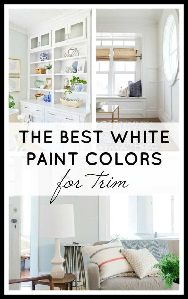 The Best White Paint Colors For Trim White Paint Colors Best