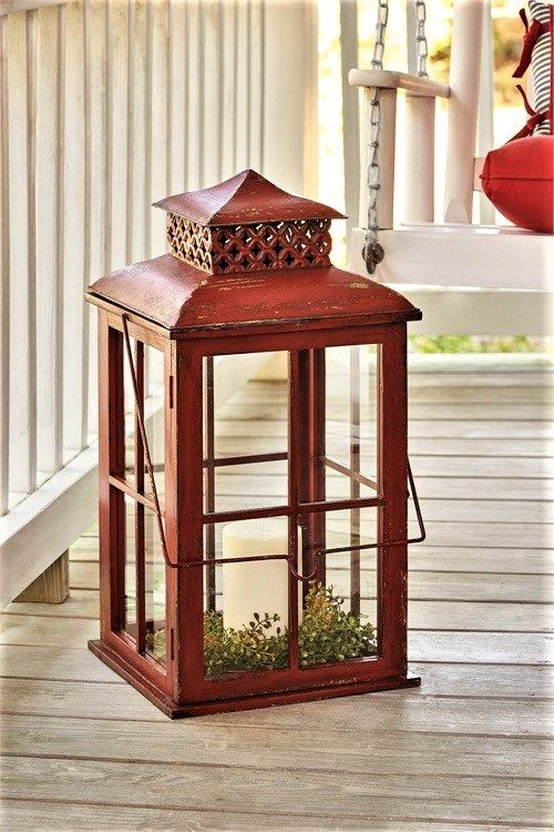 Superior Outdoor Candle Lanterns   Rustic Large Candle Lanterns