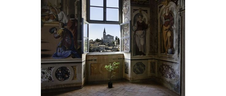 A glimpse of Todi, seen from the window of an ancient palace  Steve McCurry Photographs the Italian Region |  Italy Magazine