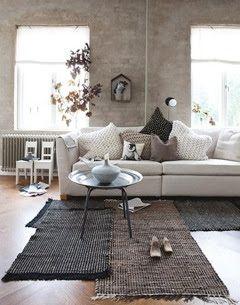 scandinavisch landelijk interieur