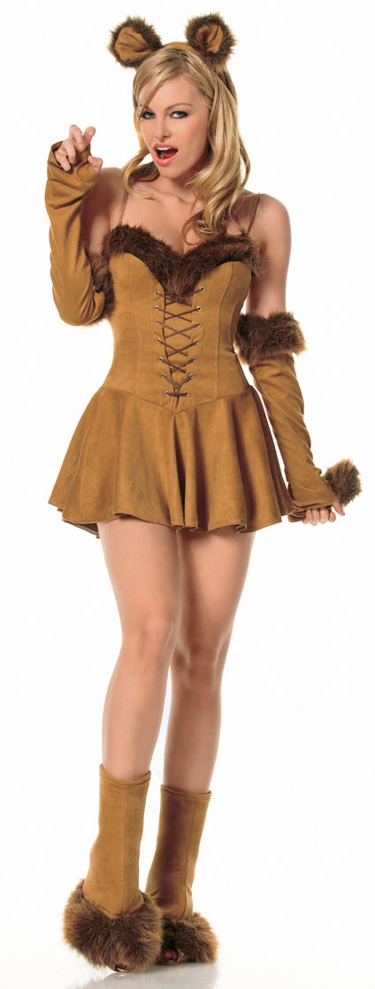 Womens Cowardly Lion Costume