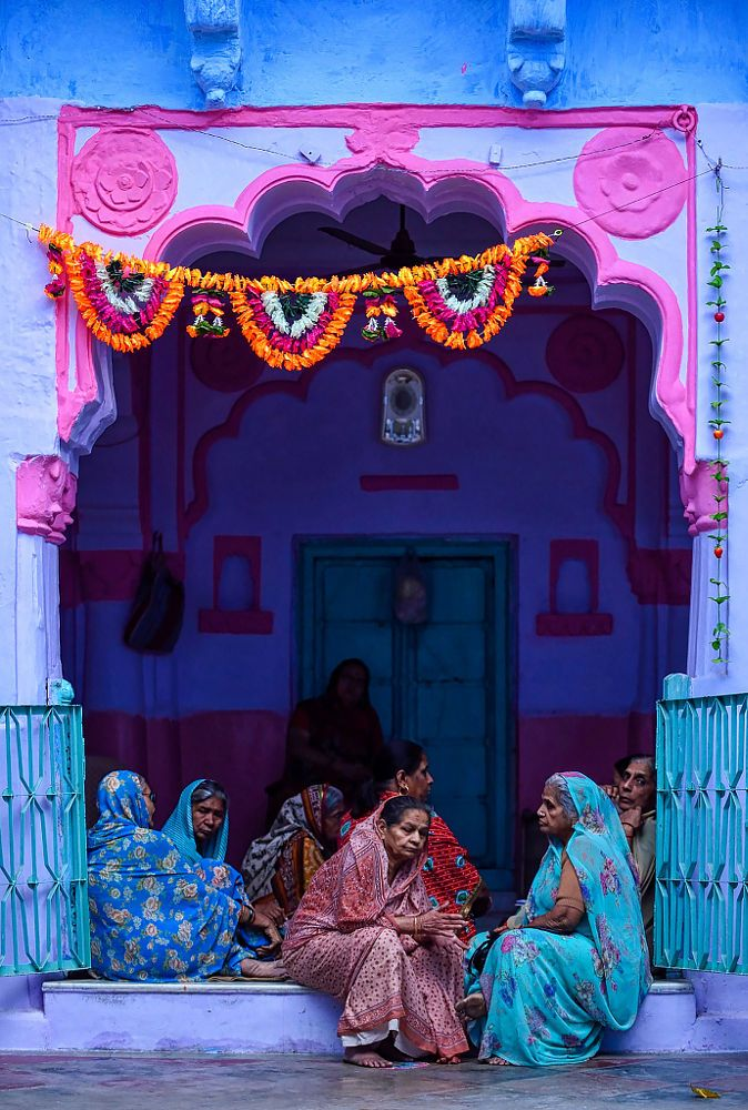 Colourful India by Vichaya Pop on 500px,  streets of Jodhpur, a.k.a. The Blue City. India
