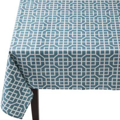 Threshold™ Trellis Rectangle Tablecloth