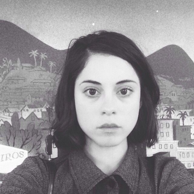 rosa salazar short hair