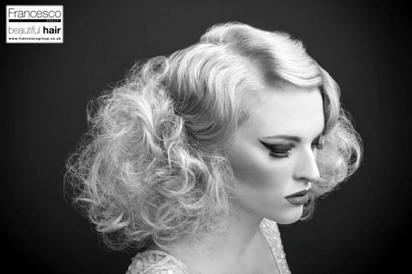 Hair by Francesco Group Derby #vintage #hair #fingerwaves #waves #derby