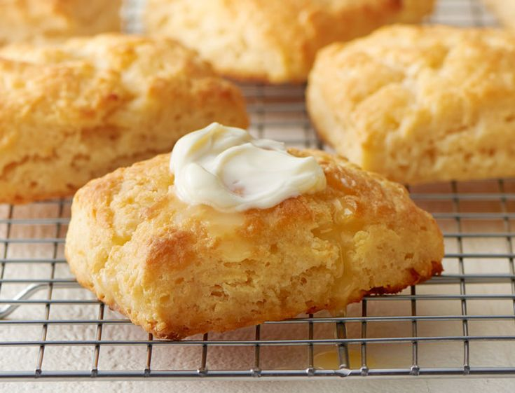 Warm, tender, flaky biscuits slathered in butter - we'll wait here while you make these immediately.
