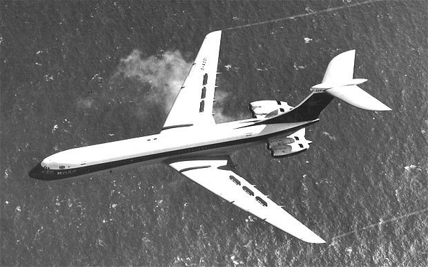 BOAC's Super VC10 played a key role in developing services to Barbados