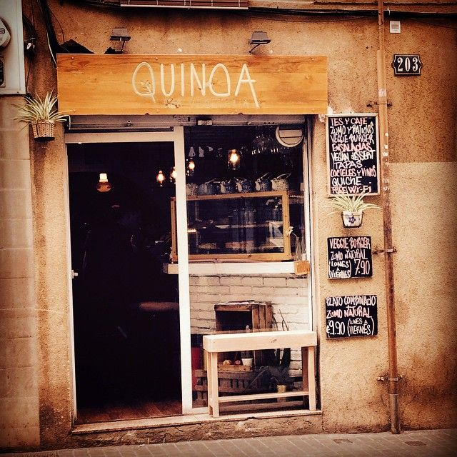 81 best barcelona places images on pinterest barcelona city quinoa bar vegetari barcelona malvernweather Choice Image