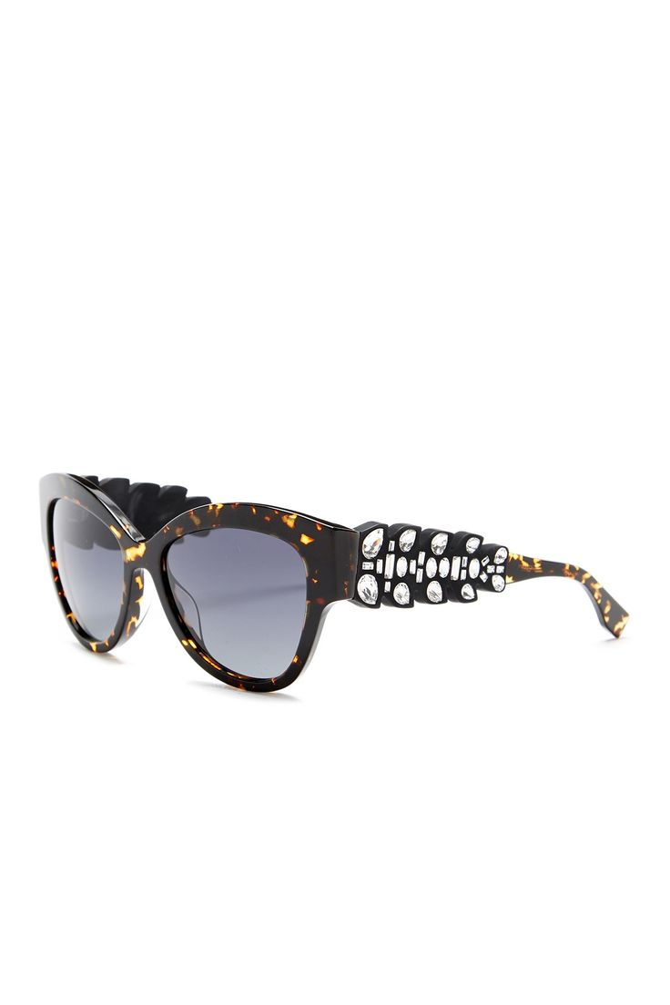 FENDI - Women's Cat Eye Sunglasses is now 83% off. Free Shipping on orders over $100.