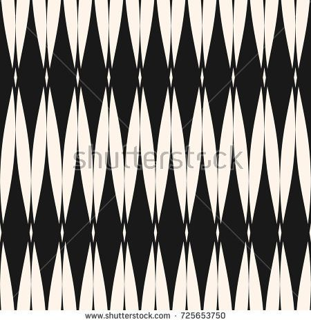 Vector seamless pattern. Abstract graphic monochrome background with rhombus shapes, mesh grid texture, repeat tiles. Art deco style. Elegant geometric design for decor, fabric, textile, carpet, cover