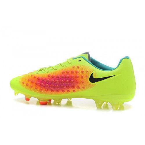 Nike Magista - Baratas 2017 Nike Magista Orden II FG Amarillo Melocoton Zapatos De Futbol