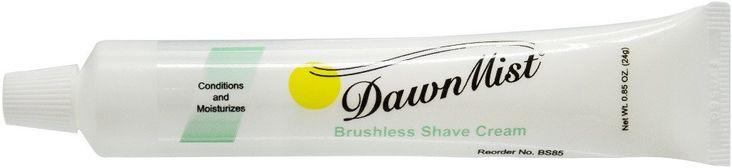 Brushless Shave Cream, 0.85 oz. Tube - CASE