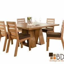Resultado de imagen para comedores de madera modernos