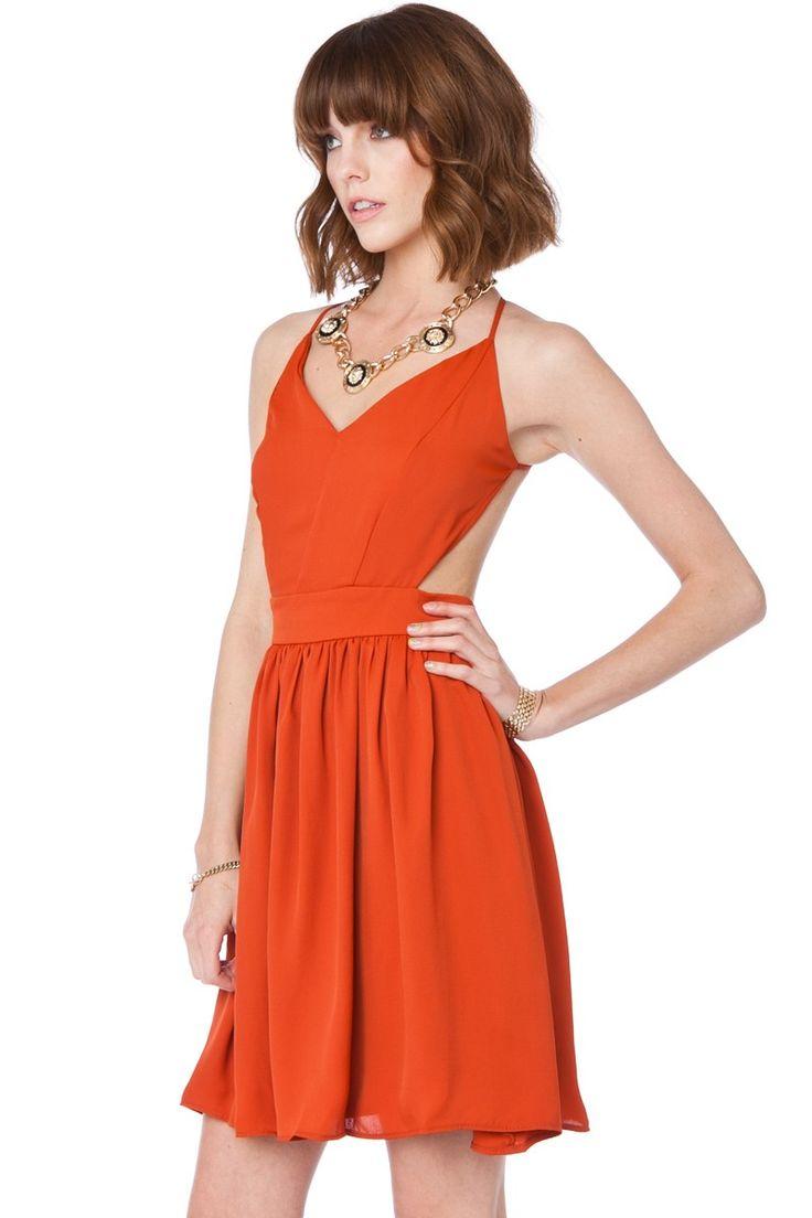 oh yeah! ShopSosie Style : Luna Dress in Brick