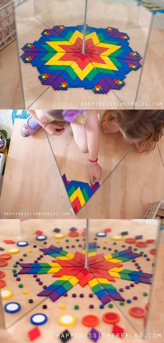 Make math playful and fun for kids with mirror books. Great way to let children explore math concepts like symmetry, patterns, and more.