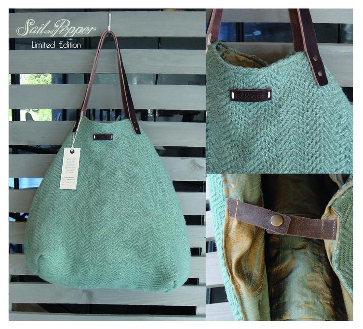 Limited Edition 2 Sail & Pepper blue shopper bag
