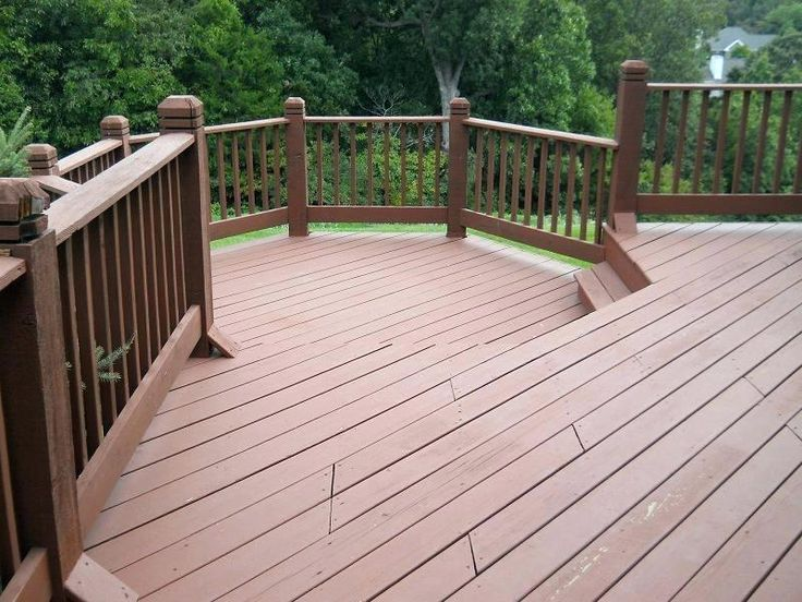SW pine cone solid stain | Deck paint, Deck railings, Deck
