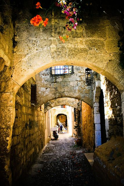 Ancient passage - Rhodes, Greece  | by © nolitawanders