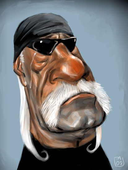 Celebrity Caricatures | Edit: Revised poor Hulkster for better likeness and overall betterness ...