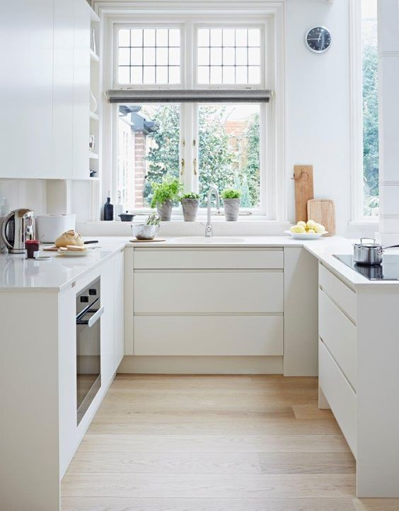 Narrow galley kitchen design ideas | Küche | Pinterest | Galley ...
