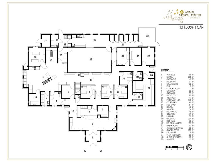 8 Best Vet Office Floor Plans Images On Pinterest