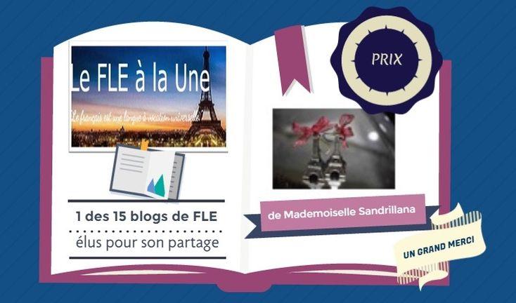 Prix Black Wolf Blogger- Le FLE à la Une by Brigite Lima