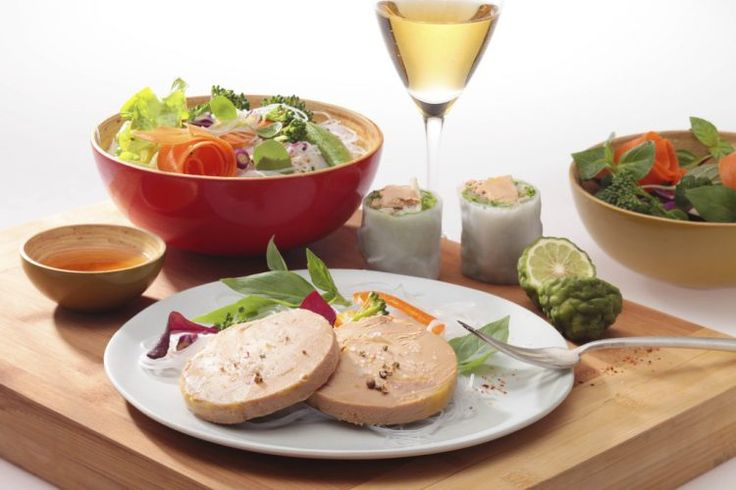 Un Nouvel An chinois au Foie Gras !  #foiegras #recette