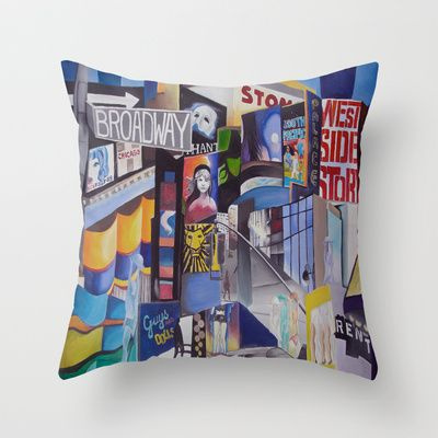 Yes, for B's new room! Broadway Throw Pillow