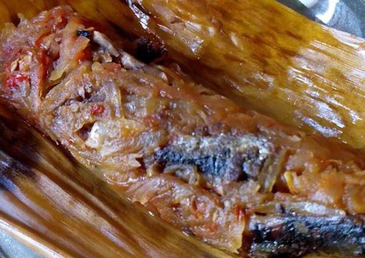 Resep Pepes Ikan Asin Mangga