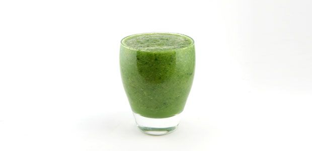 Romeinse sla komkommer kiwi smoothie recept - Supersnel gezond