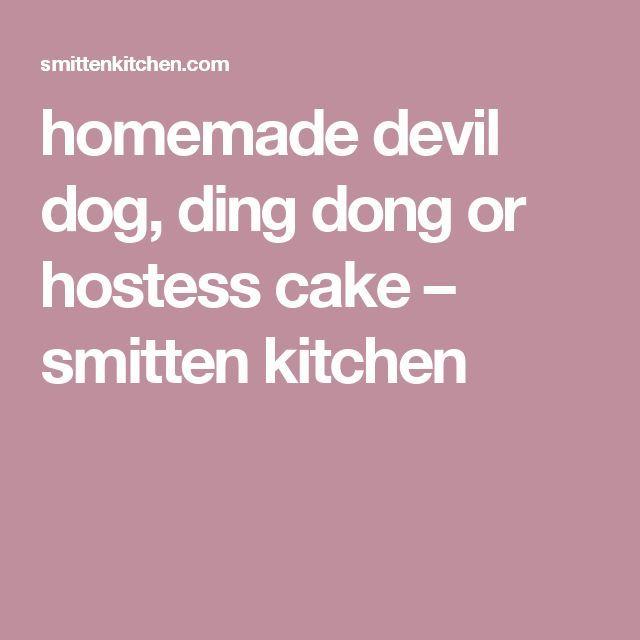 homemade devil dog, ding dong or hostess cake – smitten kitchen