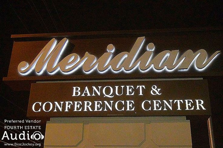 The #ChicagoWeddingDJ pros from Fourth Estate Audio always enjoy returning to Meridian Banquets in Rolling Meadows. http://www.discjockey.org/meridian-banquet-and-conference-center/ #ChicagoDJ