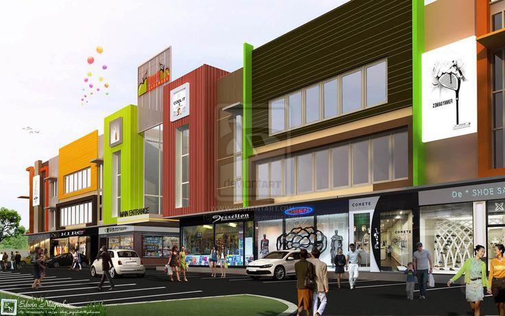 Desain Ruko Modern Terbaru 2014 | Info Bisnis Properti