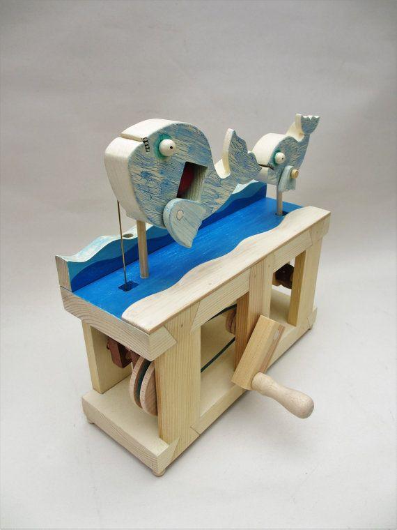 Two Fish Automaton By Timdonaldautomata On Etsy
