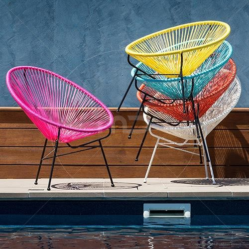 Acapulco Chair Replica - Pink - Huge Acapulco Lounge Chairs Range and Buy Acapulco Chairs - Milan Direct