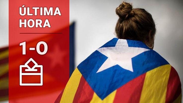 Referéndum en Catalunya: Últimas noticias de las votaciones del 1-O