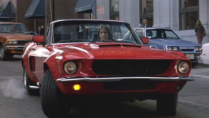 Cars Movie Soundtrack: Innerspace 1967 Mustang Convertible