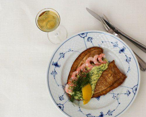 fiskefilet dildnaise smørrebrød restaurant kronborg københavn
