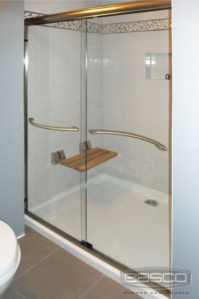 New Shower Glass Door towel Bar