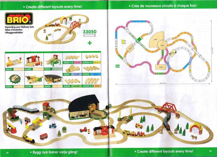 Brio Eisenbahn Layout