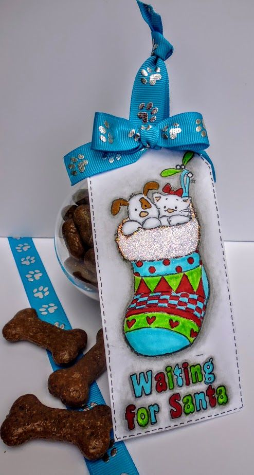 """Designed by Diane Williams using """"Muddy Paws"""" ribbon"""