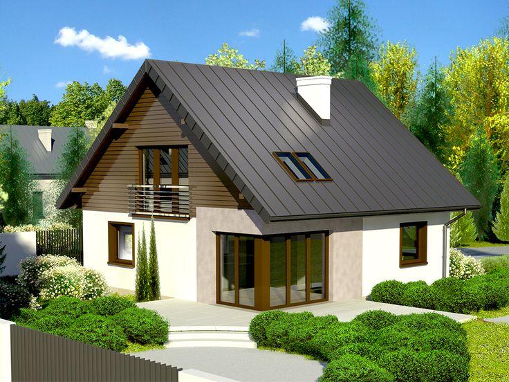 DOM.PL™ - Projekt domu Dom przy Cyprysowej 7 CE - DOM EB3-15 - gotowy projekt domu