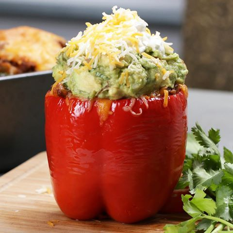 Taco-Stuffed+Peppers+Recipe/We loved these peppers. Followed recipe and I will make again.