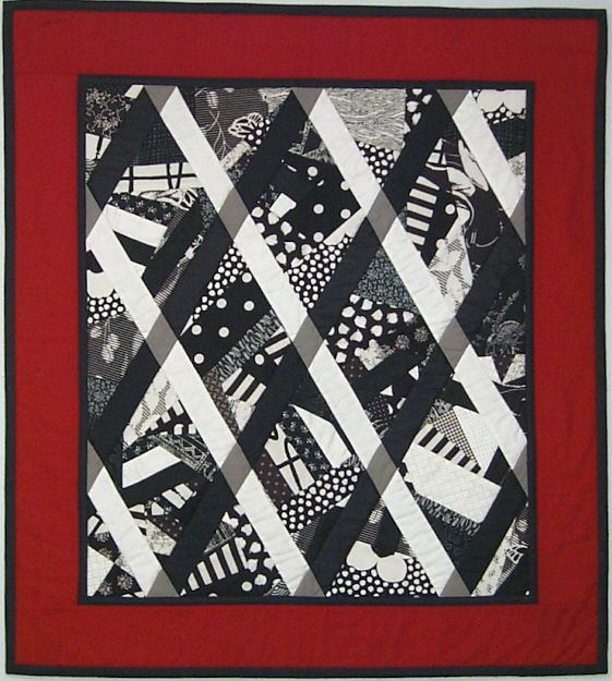 141 best images about grey and black quilts on pinterest for Black white and gray quilt patterns