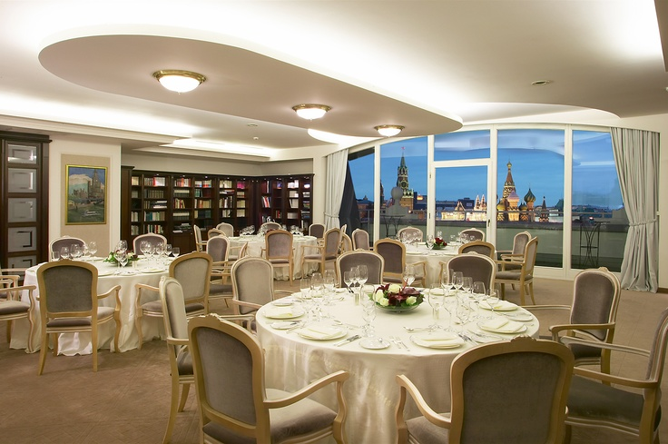 TSAR EVENTS' CHOICE -HOTEL OF THE WEEK -Baltschug Kempinski Moscow. Library room