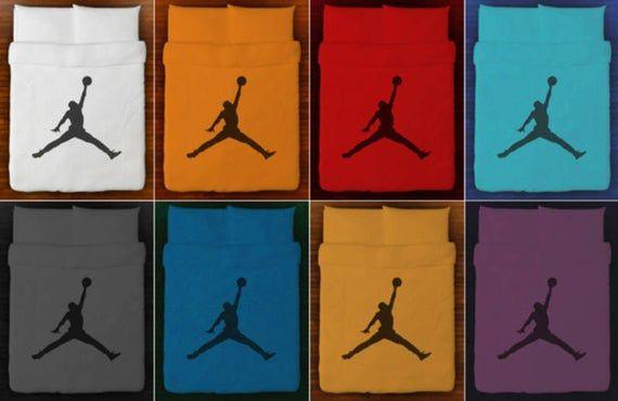 Basketball Bedding Duvet Cover air jordan jumpman Queen King Twin ...