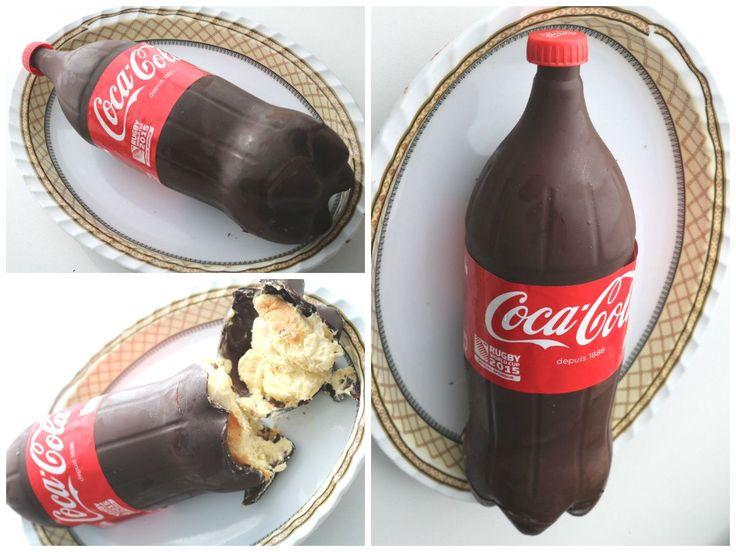 Très tendance, la recette du gâteau en forme de bouteille de Coca-Cola. | Cook-shop, le Blog