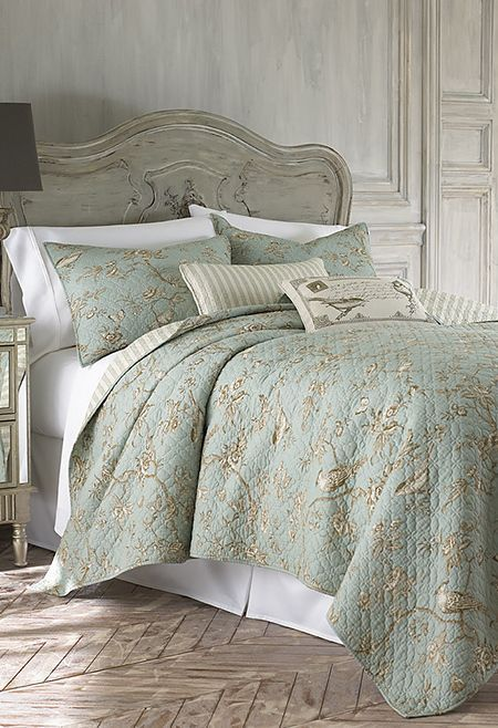 This Is Ansley S New Toile Bedspread Love This French Country