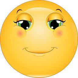 Thinking Smile Emoticon
