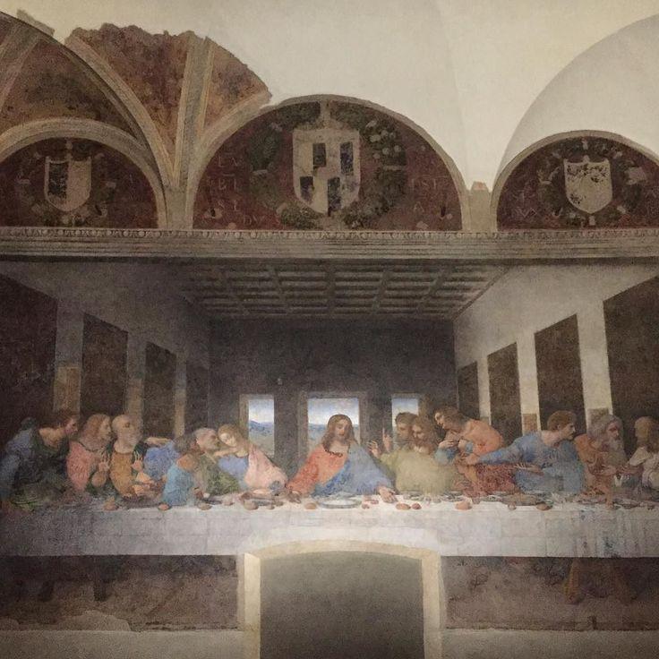 Been there done that . . . #travel #autumn #happyday #inspiration #осень #picoftheday #imxplorer #lastsupper #leonardodavinci #italia #italy #italien #milano #church #art #wow #traveling